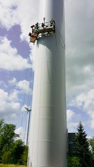 Justy maintenance éolienne
